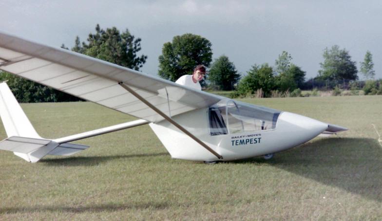 Tempest Ultralight Glider Tempest Experimental Aircraft